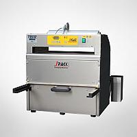 TSS 112 Pneumatska polu-automatska mašina za termičko zatvaranje posuda sa dodatkom za isecanje folije