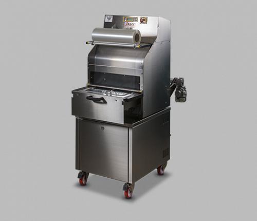 TSS 125-BG poluautomatska električna mašina za termovarenje posuda