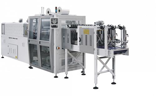 Masina za zbirno pakovanje BP802ALV 600R - pakovanje iz linije